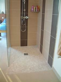 charmant modele de salle de bain avec douche al italienne With modele de salle de bain al italienne