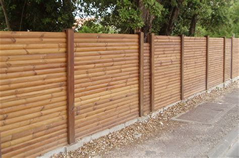 cloture bois d 233 couvrez nos clotures en bois nature bois concept
