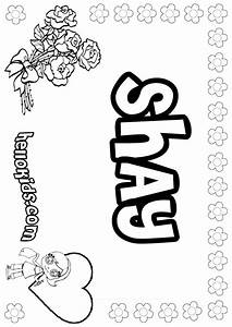 Shay Coloring Pages