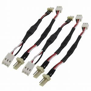 Klettbänder Für Kabel : 2x 5 stueck 3 pins laerm reduzierung kabel blei fuer pc luefter de ebay ~ Markanthonyermac.com Haus und Dekorationen
