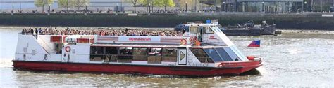 Boat Tour River Thames by Thames River Cruise With City Cruises Pass