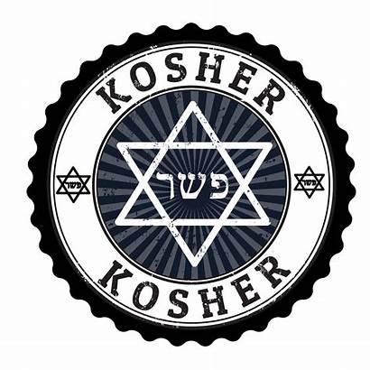 Kosher Clip Stamp Vector Clipart Illustration Symbol