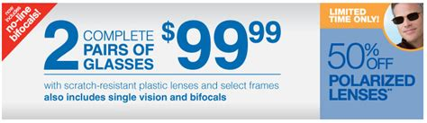 Sears Optical Promotions by Walmart Eyeglasses Frames Coupons Kohls Coupons July 2018