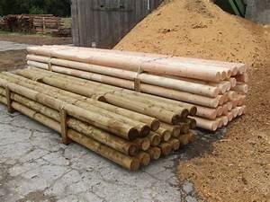 Palisaden Holz Rund : rundholz palisaden startseite ~ Frokenaadalensverden.com Haus und Dekorationen