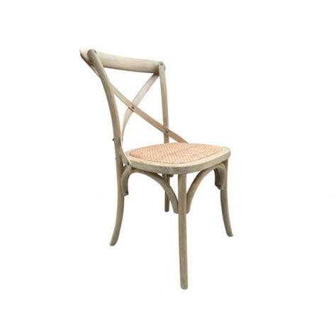 chaise en rotin pas cher lot de 2 chaises panya bois et assise en rotin naturel