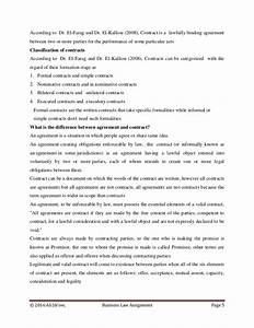 business law assignment sample pdf
