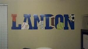 17 best images about landon on pinterest boys kids With acrylic letters hobby lobby