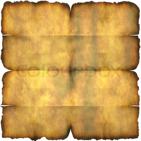 ancient section  parchment paper  crease marks