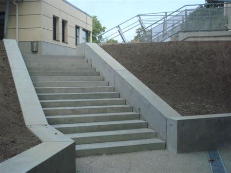 escalier de beton prefabrique escalier coueron nantes 44 loire atlantique