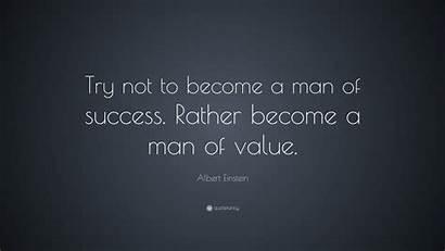 Einstein Albert Quotes Success Wallpapers Inspirational Quote