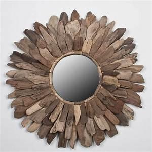Ou Acheter Du Bois Flotté : voyez le monde dans le miroir bois flott ~ Teatrodelosmanantiales.com Idées de Décoration