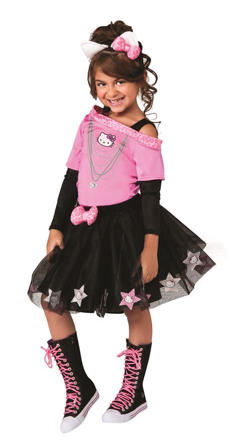 Kids Hello Kitty Girls Rock Star Costume | $23.99 | The ...