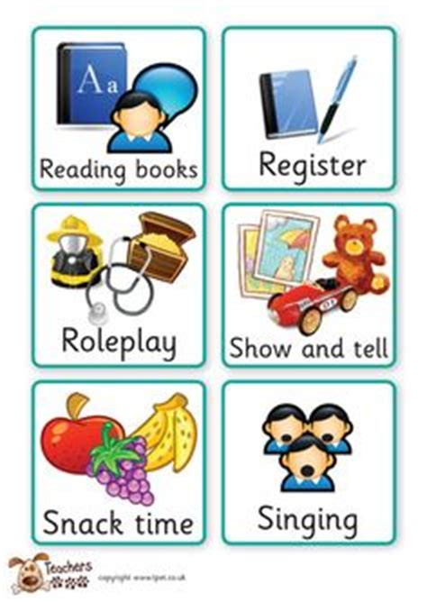 twinkl resources gt gt sen visual timetable for school