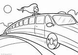 Coloring Pages Limousines Print sketch template