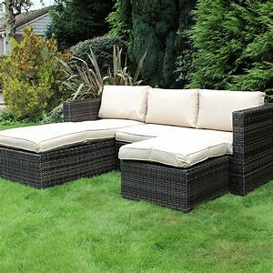 bosmere l shaped modular set cover corner cover large mid With rattan garden furniture covers l shaped