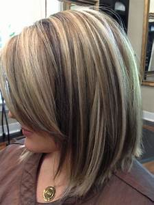 Lowlights To Blend In Dark Roots | HAIRSTYLE GALLERY