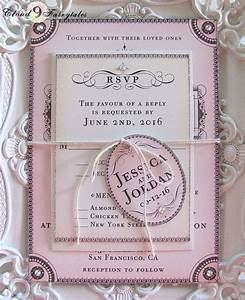 25 best ideas about bling wedding invitations on With calligraphy wedding invitations toronto