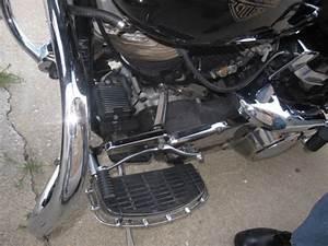 Harley Davidson 1983 Flh Shovelhead Vintage Antique Belt