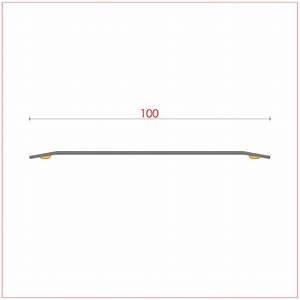 Barre De Seuil 3m : barre de seuil 100 mm m me niveau plate adh sif r f 071 ~ Dailycaller-alerts.com Idées de Décoration