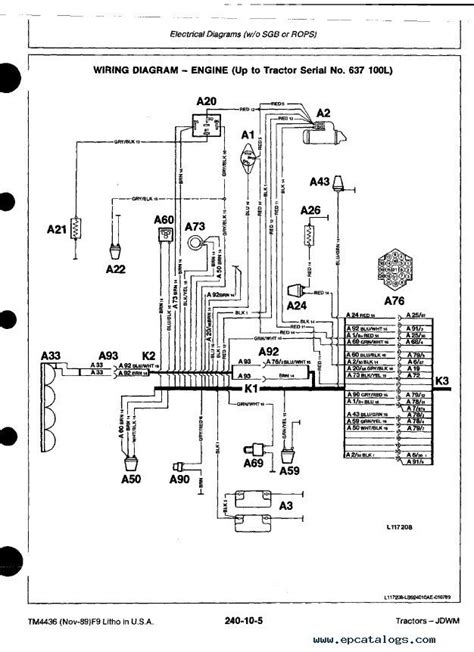 john deere tractors tm technical manual