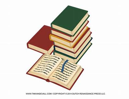 Stack Books Clip Clipart Open Template Reading