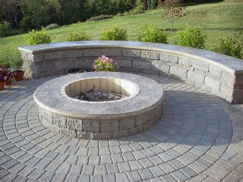 firepit wall fire pit highland ny photo gallery landscaping network