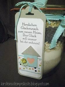 Neue Wohnung Geschenk : kirsten stempelkiste brot im glas zum einzug ~ Markanthonyermac.com Haus und Dekorationen