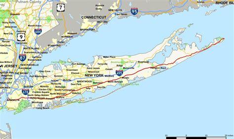 maps  long island long island city map  york usa