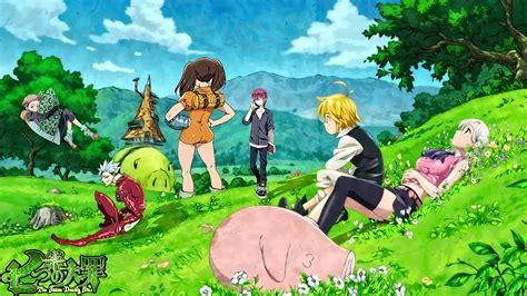 7 Deadly Sins Anime Wallpaper - seven deadly sins anime wallpaper 183 free