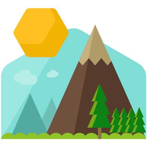 Mountain Cartoon Clip art - snow mountain png download ...