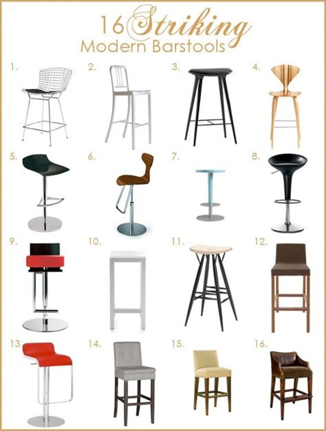 design stools for kitchen 16 best looking modern style kitchen barstools kitchen 6609