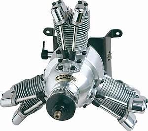 New Saito Radial Engine Fa