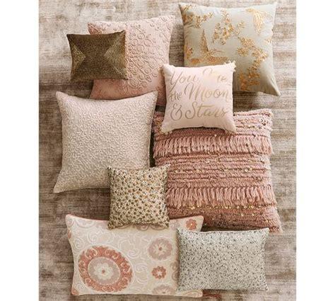 Beaded Glitter Boudoir Pillow Cover Pottery Barn by Silver Beaded Boudoir Pillow Pottery Barn