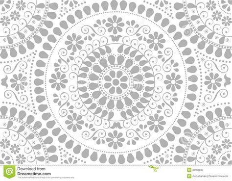 background  decorative gray folk motives royalty