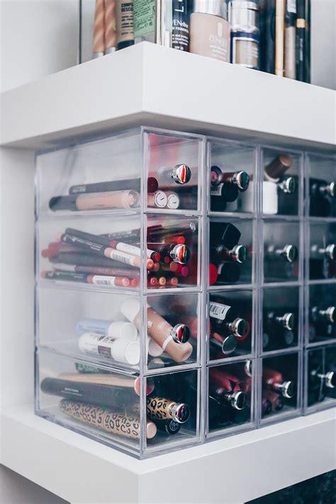 Ikea Aufbewahrung Küche Regal by Meine Neue Schminkecke Inklusive Praktischer
