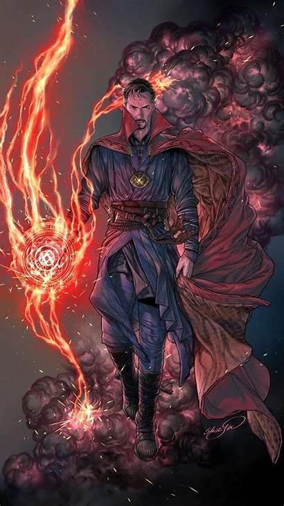 Sorcerer Supreme Strange Doctor Master Marvel Mystic