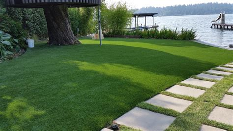 seattle bellevue artificial turf lawn installation