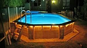 Eclairage Piscine Bois : prix d 39 une piscine en bois co t moyen tarif d 39 installation ~ Edinachiropracticcenter.com Idées de Décoration