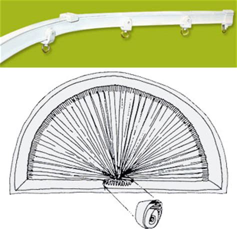 Bendable Curtain Rod For Oval Window by Arched Curtain Rods Windows Website Of Cuhatogo