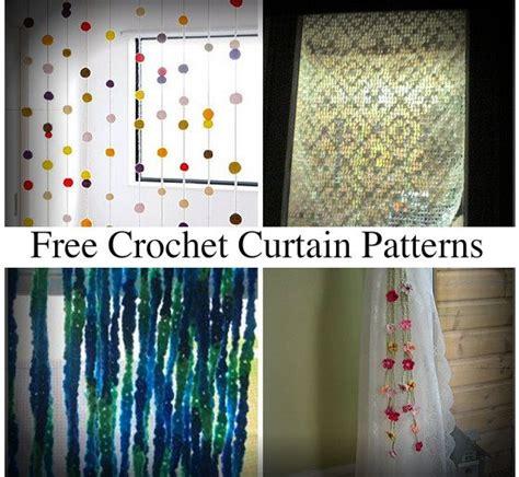 modeles rideaux crochet gratuit belle crochet de