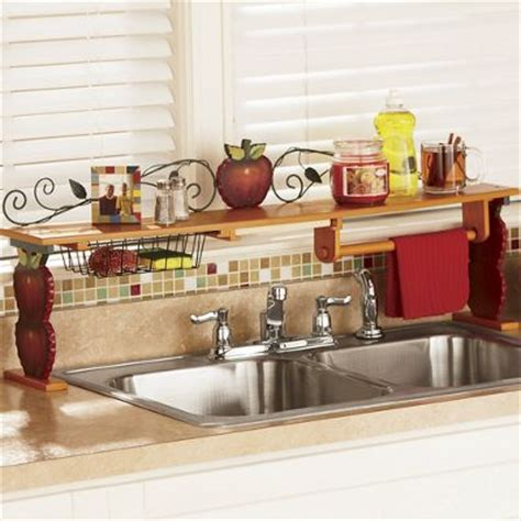 kitchen sink shelf scroll apple the sink shelf from seventh avenue 62361 2877