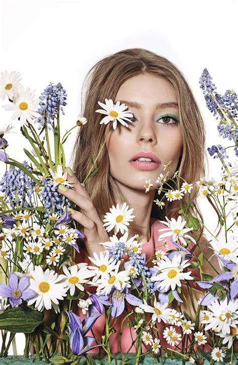 dior glowing gardens spring  makeup