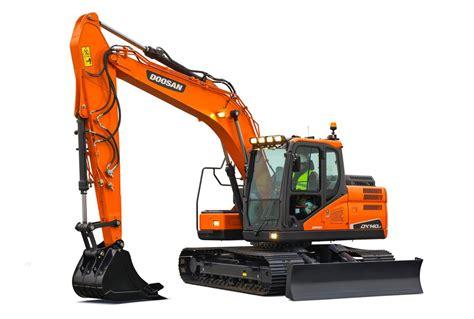 doosan dxlc  crawler excavator  ton  hp specification  features