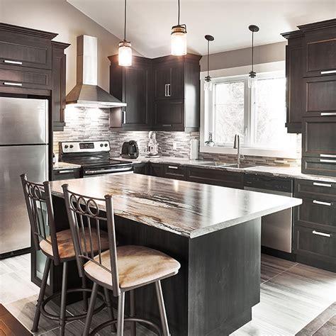 ilot cuisine maison du monde cuisines beauregard cuisine réalisation 357 armoires