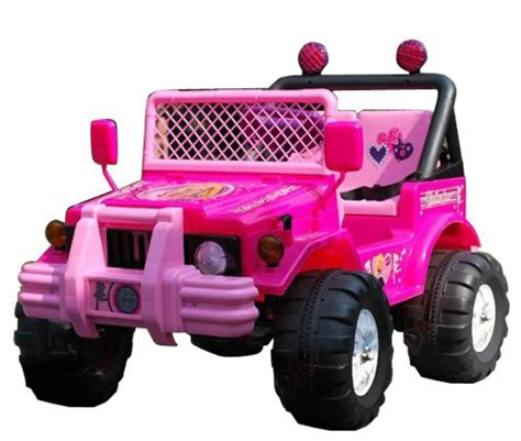 pink toy jeep pink 12v little girls 2 seat ride on jeep 159 95 kids
