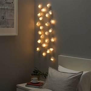 Ikea Solvinden Lichterkette : livs r lichterkette 24 led innen t ll wei ikea ~ Watch28wear.com Haus und Dekorationen