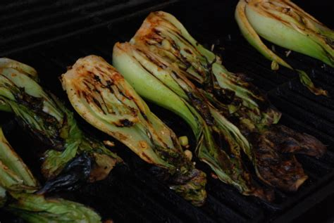 grilled baby bok choy recipe genius kitchen