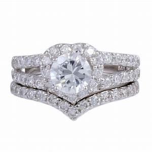 Fake diamond engagement rings that look real for Fake diamond wedding rings