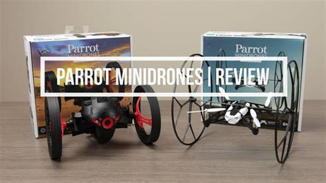 parrot minidrones rolling spider jumping sumo review youtube