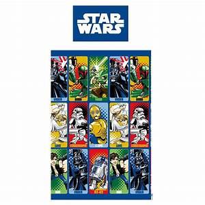 Star Wars Vorhänge : star wars 39 cartoon 39 bettbezug neu offiziell kinder ~ Lateststills.com Haus und Dekorationen